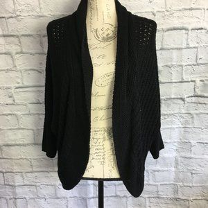 Lane Bryant Open Knit Bat Wing Cardigan Size 14/16
